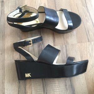 Michael Kors Black platform Shoes Size 8.5M